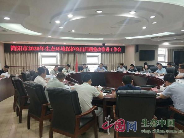 简阳市召开2020年生态环境保护突出问题整改推进工作会